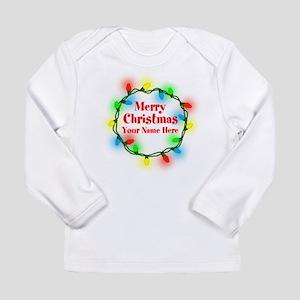 Christmas Lights Long Sleeve T-Shirt
