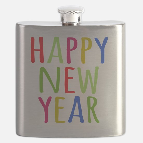 Unique New years eve Flask