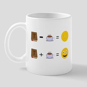 Bible Without Coffee = Mug Mugs