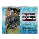 Tripawds Wall Calendar #18 - New For 2017