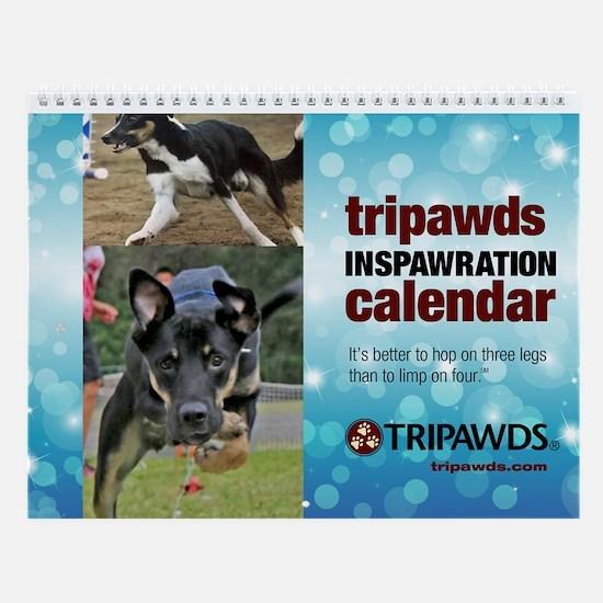 Tripawds Wall Calendar #18 - New For 2017