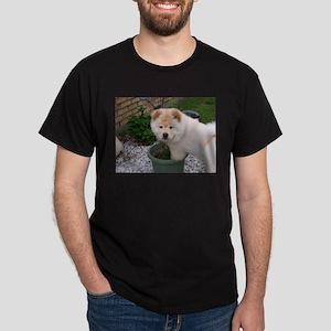 White Chow Chow Puppy T-Shirt