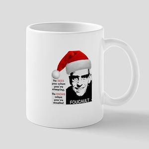 Foucault Watching Mugs