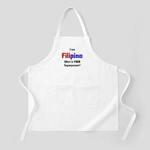 i am filipina Apron