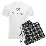 Oh Crop! Men's Light Pajamas