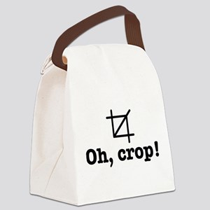 Oh Crop! Canvas Lunch Bag