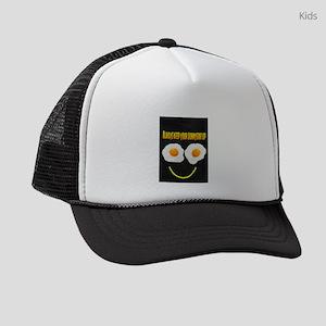 Always keep your sunnyside up Kids Trucker hat