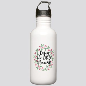 Moments Floral Stainless Water Bottle 1.0L
