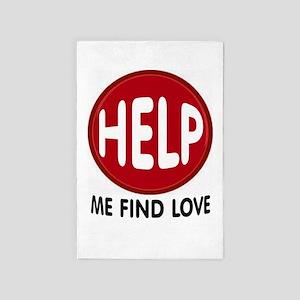 Love Help 4' X 6' Rug