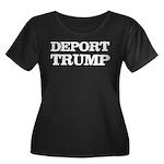 Deport T Women's Plus Size Scoop Neck Dark T-Shirt