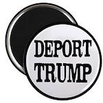"""Deport Trump Liberal Polit 2.25"""" Magnet Magne"""