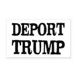 Deport Trump Liberal Politics Rectangle Car Magnet