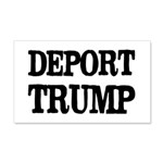 Deport Trump Liberal Politics 20x12 Wall Decal