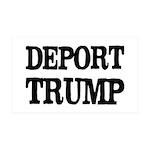 Deport Trump Liberal Politics 35x21 Wall Decal