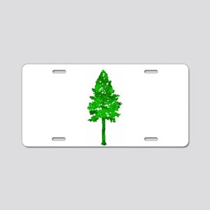 TREE Aluminum License Plate