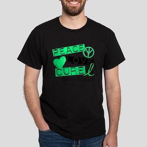PEACE LOVE CURE Celiac Disease (L1) T-Shirt