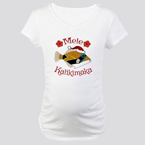 Christmas Humu Maternity T-Shirt