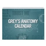Greysanatomytv Wall Calendars