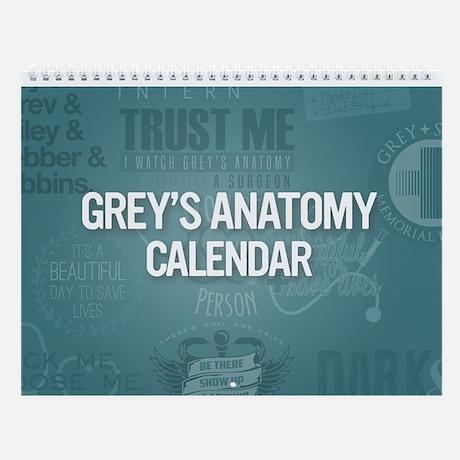 Grey's Anatomy Calendar