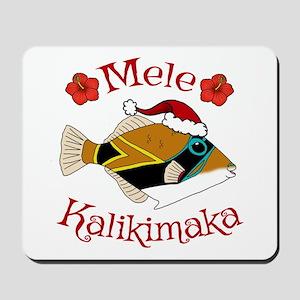 Christmas Humu Mousepad