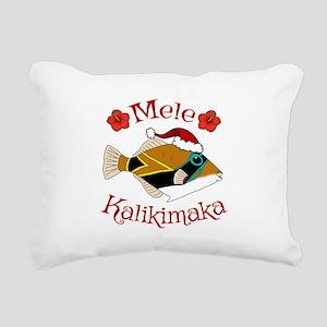 Christmas Humu Rectangular Canvas Pillow