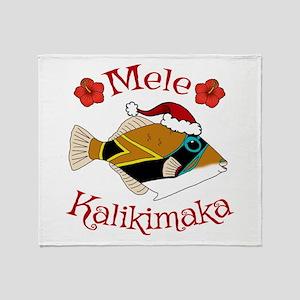Christmas Humu Throw Blanket
