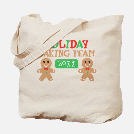 Holiday Baking Team Customizable Tote Bag
