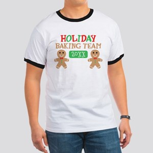 Holiday Baking Team Customizable Ringer T