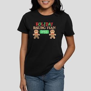 Holiday Baking Team Customiza Women's Dark T-Shirt