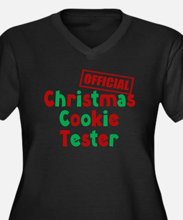 Christmas Cookie Tester Plus Size T-Shirt