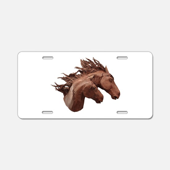 GALLOP Aluminum License Plate
