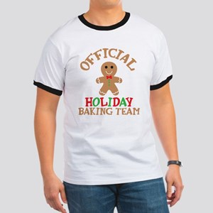 Official Holiday Baking Team Ringer T