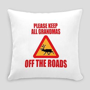 Keep Grandmas Off Roads Everyday Pillow
