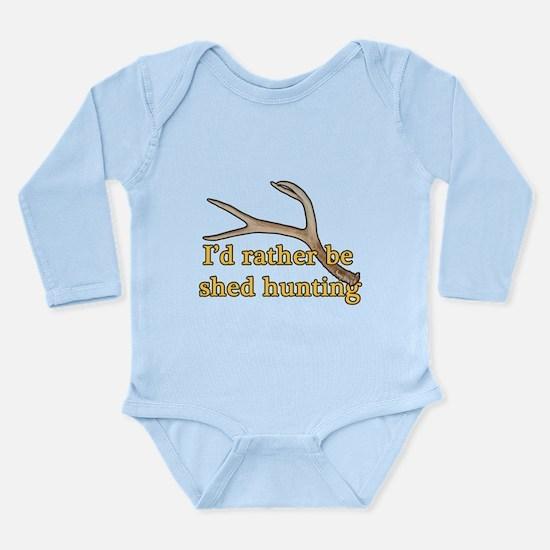 Shed hunter 1 Long Sleeve Infant Bodysuit