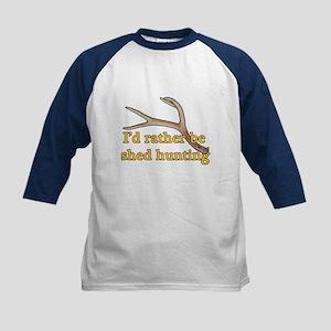 Shed hunter 1 Kids Baseball Jersey