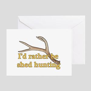 Shed hunter 1 Greeting Card