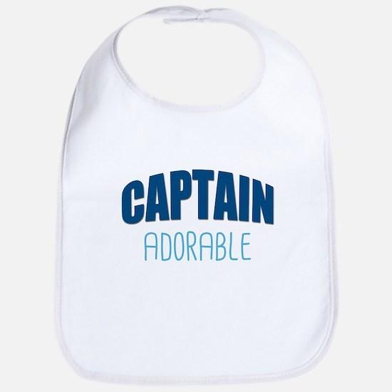 Captain Adorable Baby Bib