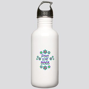Peace Love Dogs Stainless Water Bottle 1.0L