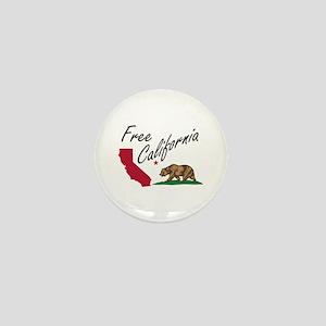 Free California CalExit Mini Button