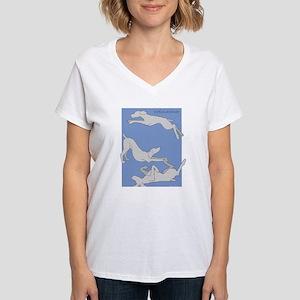 3 Weims Blue T-Shirt