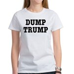 Dump Trump Liberal Politics Women's T-Shirt
