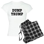 Dump Trump Liberal Politics Women's Light Pajamas