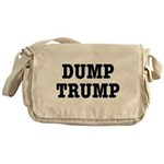Dump Trump Liberal Politics Messenger Bag