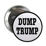 "Dump Trump Liberal Politics 2.25"" Button (10"