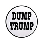 Dump Trump Liberal Politics Button
