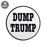 "Dump Trump Liberal Politics 3.5"" Button (10 P"