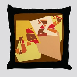Colorful Jazz Throw Pillow