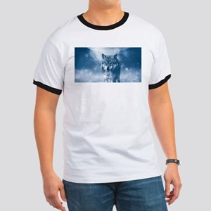 Winter Snow Wolf Animal Mystical T-Shirt