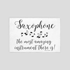 Amazing Saxophone 4' x 6' Rug
