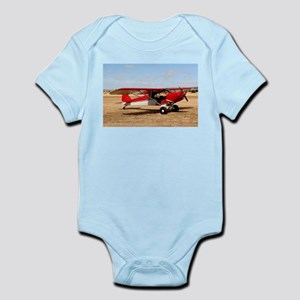 Sport Cub Plane, high wing aircraft (red Body Suit